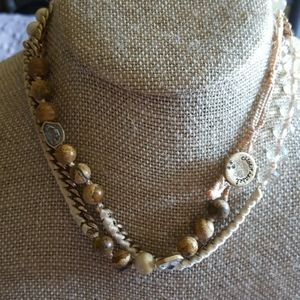 Bead and Crystal wrap